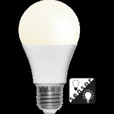 LED pirn E27 7W 470lm 2700K hämarasensoriga