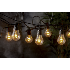 Lightchain with bulbs VINTAGE METRO 5m 10LED cableloops