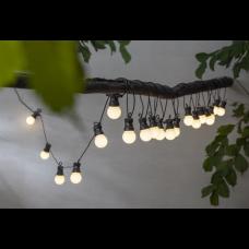 Valguskett valgete LED pallidega DECO 8.6m 20LED 6W