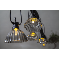 Light chain SHADE 12LED 5m IP44 with adapter