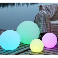 Remote control lightsphere TWILIGHTS  XL 50cm 2in1-color changing +white