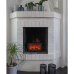 LED fireplace 30x18x11cm moving flame effect on/off switch, taimer, adapter