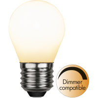 LED bulb E27 5W 3000K 470lm Golfball dimmable