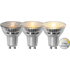 LED bulb GU10 4.4W 350/160/50lm 36° 3000K 3StepDim