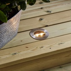 Solar Deck LED Light Ø12cm 0.12W With Twilight Sensor