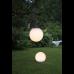 Solar pendant LED light BALL 30cm white