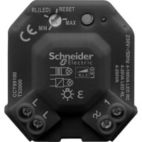 LED impulse dimmer module Schneider 4-100W