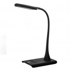 Desk Lamp MYWAY 7-Level Dimmer,Flexible neck, Touch-Sensitive Control Panel, Matte Black