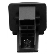 3-Phase Track Endcap Black
