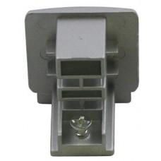 3-Phase Track Endcap Silver