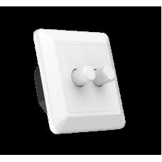 LED-dimmer 2x100W Triac White