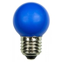 LED bulb GolfBall E27 1W 190° blue