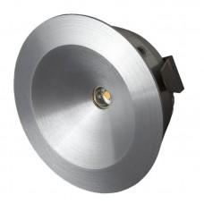 CABINET ROUND SPOTLIGHT LED 2.5W 3000K 90° 129lm IP44