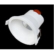 LED Downlight REVERSO 6W Ø8.1cm 3000K 400lm 40° IP44 White Dim