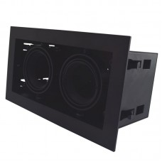 BOX LIGHT DOUBLE GU10 adjustable fixture set, black