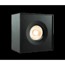 Pinnapealne LEDvalgusti RETTO 9W 620lm 2800-2000K 40° dim IP44, must