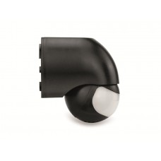 IR Motion Sensor 180º IP44, black