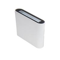 LED seinavalgusti UP&DOWN 11.5x9cm IP54 6.9W 392lm 2700K valge dim