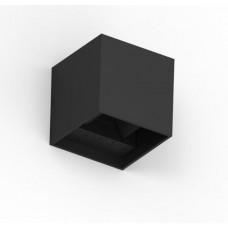 Seinalamp CUBE 10x10x10cm 6W 3000K Must dimmerdatav