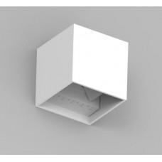 Seinalamp CUBE 10x10x10cm 6W 3000K Valge