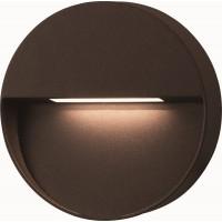 LED seinavalgusti BLOCK pinnapealne IP54 6W 15x3,6cm 120lm 3000K, must